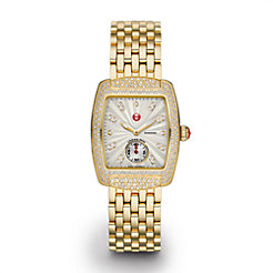 Urban Mini Diamond Gold, Diamond Dial on Diamond Bracelet Watch