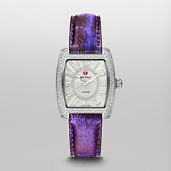 Urban Mini Diamond, Diamond Dial Purple Fashion Snake Watch