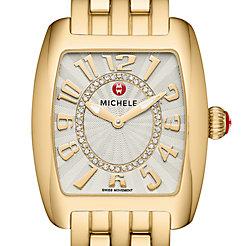 Urban Mini Gold, Diamond Dial Watch