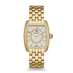 Urban Mini Diamond Gold, Diamond Dial Watch