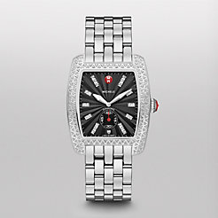 Urban Diamond, Black Diamond Dial Watch