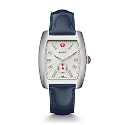 Urban, Diamond Dial Navy Patent Watch