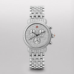 CSX-36 Ultimate Pav� Diamond, Taper Diamond Bracelet Watch