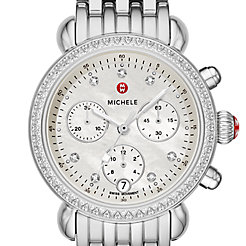 CSX 36 Stainless Diamond Watch