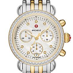 CSX 36 Two-Tone 18k Gold Diamond Watch