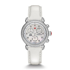 Signature CSX-36 Diamond, Diamond Dial White Alligator Watch