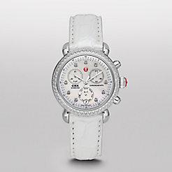 Signature CSX-36 Diamond, Diamond Dial Silver Alligator