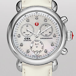 Signature CSX-36 Non-Diamond, Diamond Dial Silver Patent Watch