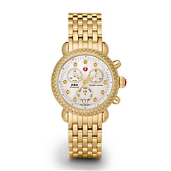 Signature CSX-36 Diamond Gold, Diamond Dial Watch