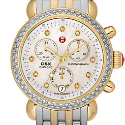 Signature CSX-36 Two Tone Diamond, Diamond Dial Watch