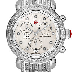 Signature CSX-36 Diamond, Diamond Dial on Diamond Bracelet Watch