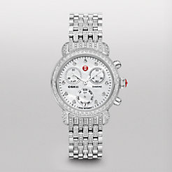 CSX-33 Pav� Diamond, Diamond Dial on Diamond Bracelet Watch