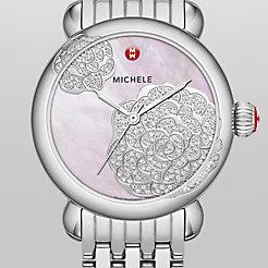 Limited Edition - CSX Jardin, Pink Diamond Dial Watch