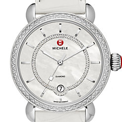 CSX Elegance Diamond, Diamond Dial White Alligator Watch