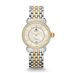 CSX Elegance Diamond Two-Tone, Diamond Dial Watch