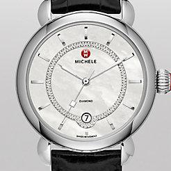 CSX Elegance, Diamond Dial Black Alligator Watch