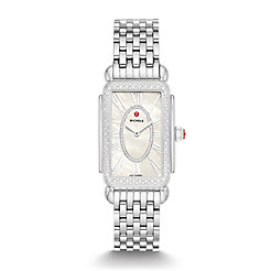 Deco Park Stainless Steel Diamond Watch