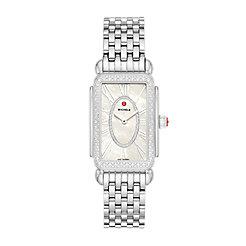 Deco Park Stainless Steel Diamond Watch