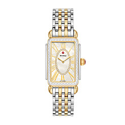 Deco Park Two-Tone Diamond Watch