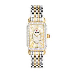 Deco Park Two-Tone Diamond Watch