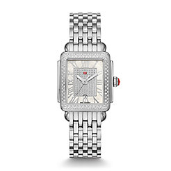 Deco Madison Mid Stainless-Steel Diamond Watch