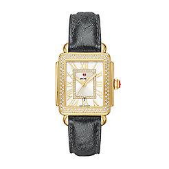 Deco Madison Mid Gold Diamond Watch