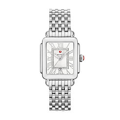 Deco Madison Mid Stainless Steel Diamond Dial Watch