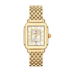 Deco Madison Mid Gold Diamond Dial Watch