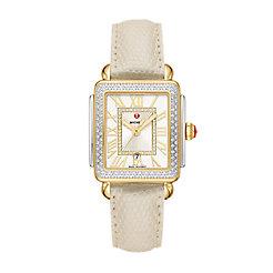 Deco Madison Mid Two-Tone Diamond Watch