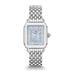 Deco Madison Stainless Diamond Dial Watch