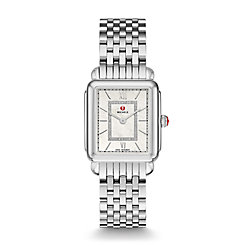 Deco II Mid Stainless Steel Diamond Watch