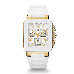 Park Jelly Bean, Gold Tone White Watch