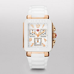 Park Jelly Bean, Rose Gold Tone White Watch