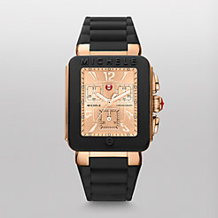 Park Jelly Bean Black Rose Gold Watch
