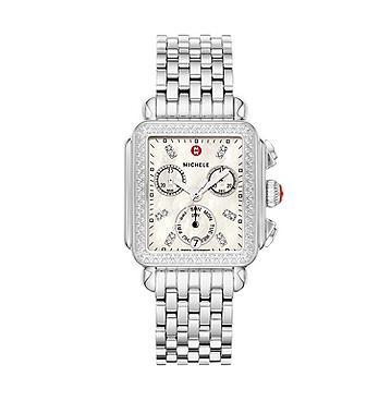 6ca754f1717 MICHELE® Watches - Deco Diamond, Diamond Dial Watch