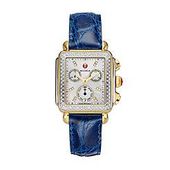 Signature Deco Two-Tone Diamond Watch