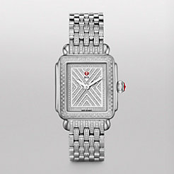 Art of Deco Diamond, Diamond Dial Diamond Bracelet Watch