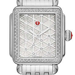 Deco Diamond, Layered Diamond Dial Watch