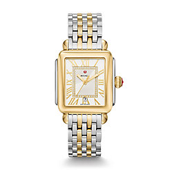 Deco Madison Two-Tone, Diamond Dial Watch