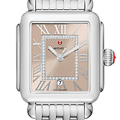 Deco Madison, Beige Diamond Dial Watch