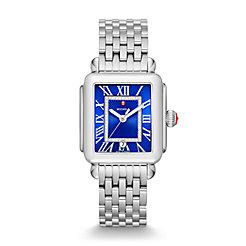 Deco Madison, Cobalt Diamond Dial Watch
