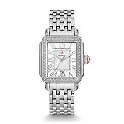 Deco Madison Stainless Steel Diamond Watch