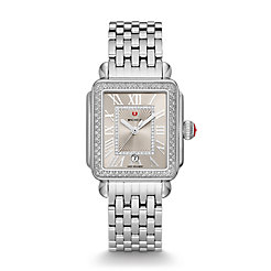 Deco Madison Stainless Steel Cashmere Diamond Watch