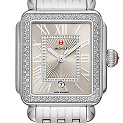 Deco Madison Stainless Steel Cashmere Diamond Watch