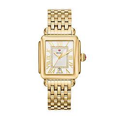 Deco Madison Gold Diamond Dial Watch