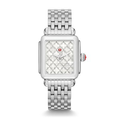 f8c59887e8d MICHELE® Watches - Deco Stainless-Steel Mosaic Dial Watch
