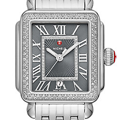 Deco Madison Stainless-Steel Diamond Watch