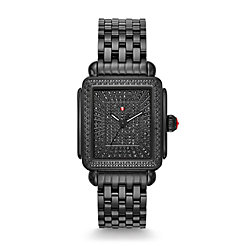 Deco Noir Ultimate Pavé Diamond Watch