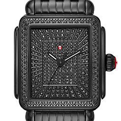 Deco Noir Ultimate Pavé Diamond Watch