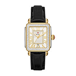 Deco Madison Two-Tone Diamond Watch